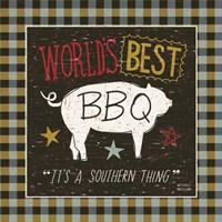 Southern Pride Best BBQ by Michael Mullan - various sizes, FulcrumGallery.com brand