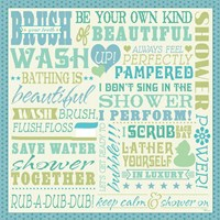 Wash Up V Fine Art Print