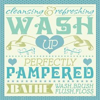 Wash Up VI Fine Art Print