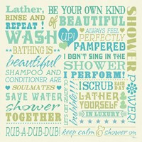 Wash Up Words by Pela Studio - various sizes
