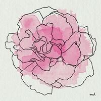 Watercolor Floral III Fine Art Print