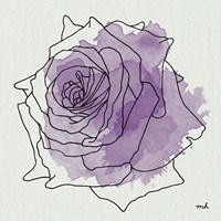 Watercolor Floral IV Fine Art Print
