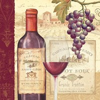Wine Tradition I by Daphne Brissonnet - various sizes