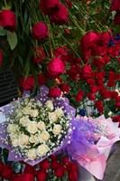Flower Market, Chongqing City, Chongqing Province, China by Walter Bibikow - various sizes, FulcrumGallery.com brand