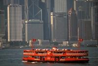 Star Ferry in Hong Kong Harbor, Hong Kong, China by Walter Bibikow - various sizes