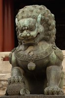 Mythical Animal, Forbidden City, National Palace Museum, Beijing, China Fine Art Print