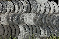 Ceramic Roof Tiles For Sale, Jianchuan County, Yunnan Province, China by Pete Oxford - various sizes