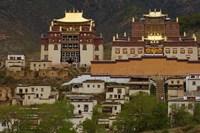 Deqin Tibetan Autonomous Prefecture, Songzhanling Monastery, Zhongdian, Yunnan Province, China Fine Art Print