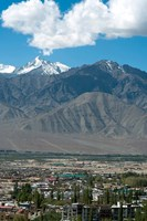 Landscape, Indus Valley, Leh, Ladakh, India Fine Art Print