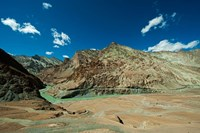 Landscape, Markha Valley, Ladakh, India Fine Art Print