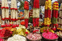 Flower Shop, Southern India by Ali Kabas - various sizes