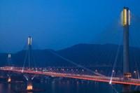 Hong Kong, Ting Kau Bridge, Tsing Yi Island, Ting Kau by Walter Bibikow - various sizes
