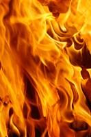 Close-up of fire flames, Jodhpur, India by Adam Jones - various sizes