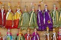 Crafts for sale, Jaisalmer Fort, Jaisalmer, India by Adam Jones - various sizes
