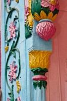 Ornate doorway detalis, Delhi, India by Adam Jones - various sizes