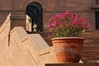 Steps, Central Secretariat, Raisina Hill, New Delhi, India by Adam Jones - various sizes