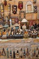 Tourist Trinkets, Fort Jaisalmer, Jaisalmer, India by Adam Jones - various sizes