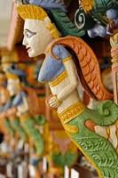 Wood carving, Raj Palace Hotel, Jaipur, India by Adam Jones - various sizes, FulcrumGallery.com brand