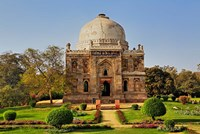 Mosque of Sheesh Gumbad, Lodhi Gardens, New Delhi, India by Adam Jones - various sizes