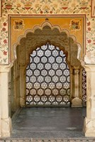 Archway, Amber Fort, Jaipur, India Fine Art Print
