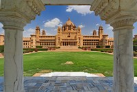 Umaid Bhawan Palace hotel, Jodjpur, India. by Adam Jones - various sizes