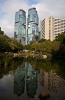 Lippo Office Towers, Hong Kong, China Fine Art Print