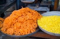Market Food in Shahpura, Rajasthan, Near Jodhpur, India by Bill Bachmann - various sizes