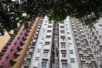 Apartments, Hong Kong, China Fine Art Print