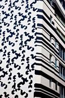Close up of Building, Hong Kong, China Fine Art Print