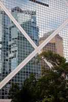 Reflections On Building, Hong Kong, China by Julie Eggers - various sizes