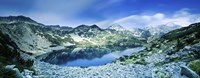 View of Ribno Banderishko Lake in Pirin National Park, Bulgaria Fine Art Print