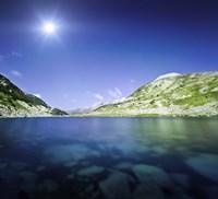 Okoto Lake in the Pirin Mountains, Pirin National Park, Bulgaria by Evgeny Kuklev - various sizes