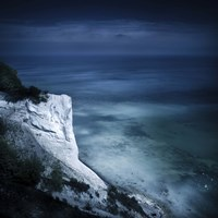 Chalk mountain and sea, Mons Klint cliffs, Denmark by Evgeny Kuklev - various sizes