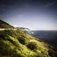 Sea and Mountains Nebida Sardinia Italy