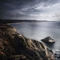 Sea and mountains, Nebida, Sardinia, Italy by Evgeny Kuklev - various sizes - $47.99