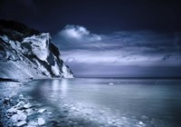 Chalk mountains and seaside, Mons Klint cliffs, Denmark by Evgeny Kuklev - various sizes