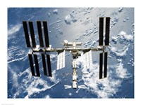 International Space Station is seen from Space Shuttle Discovery - various sizes - $29.99
