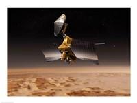 NASA's Mars Reconnaissance Orbiter Fine Art Print