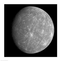 Planet Mercury Fine Art Print
