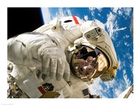 Astronaut taking a spacewalk - various sizes, FulcrumGallery.com brand