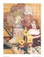 Fleurs et dentelles Fine Art Print