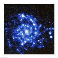 U.V. Image of the Spiral Galaxy - various sizes