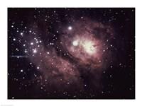 Logoon Nebula in Sagittarius - various sizes