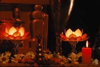 Hindu Prayer Altar, India by Dee Ann Pederson - various sizes