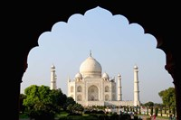 Sunrise at the Taj Mahal, Agra, India Fine Art Print