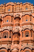 Wind Palace in Downtown Center of the Pink City, Jaipur, Rajasthan, India by Bill Bachmann - various sizes