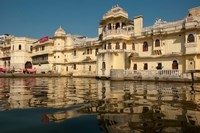 Along Lake Pichola, Udaipur, Rajasthan, India Fine Art Print