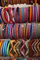 Bracelets, Pushkar, Rajasthan, India. Fine Art Print