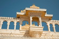 City Palace, Udaipur, Rajasthan, India. Fine Art Print
