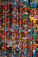 Colorful souvenirs, Pushkar, Rajasthan, India. Fine Art Print